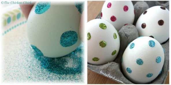 collage dot eggs
