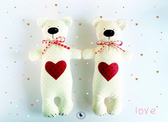 Διαγωνισμός #14: Kέρδισε χειροποίητα αρκουδάκια αγάπης by Manousenia handmadecreation!