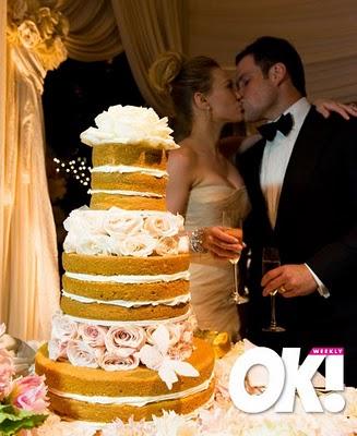 Δεν άντεξα... έβαλα και την τέλεια γαμήλια τούρτα! #nakedcake