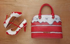 Red+Velvet+bag+and+Shoe+Collection