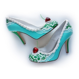 Tropical+Mint+Cake+Heels