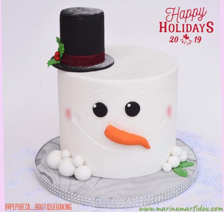ΔΙΑΓΩΝΙΣΜΟΣ #55: ΚΕΡΔΙΣΕ Xmas cake by Pepi Beza boutique baking*